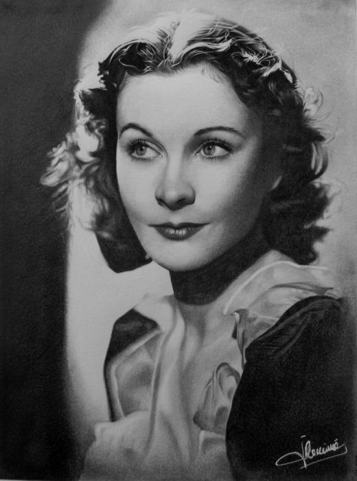 Vivien Leigh by Domine